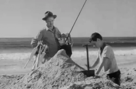 Still from The Sand Castle.