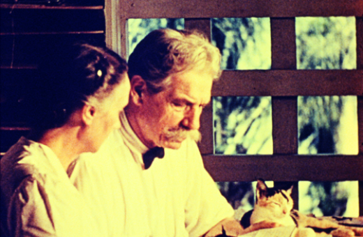 Still from Albert Schweitzer