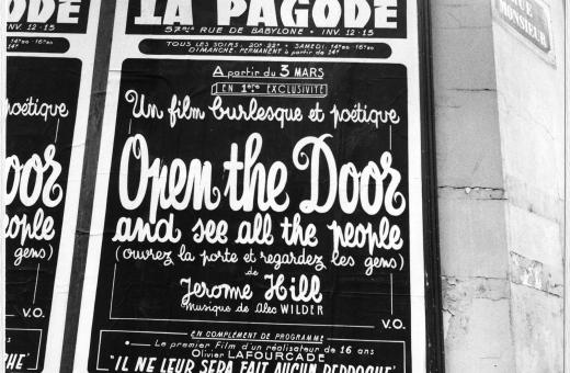 Poster for Open the Door and See All the People.