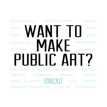 Want to make public art?
